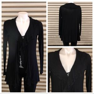 Fever black shrug size medium